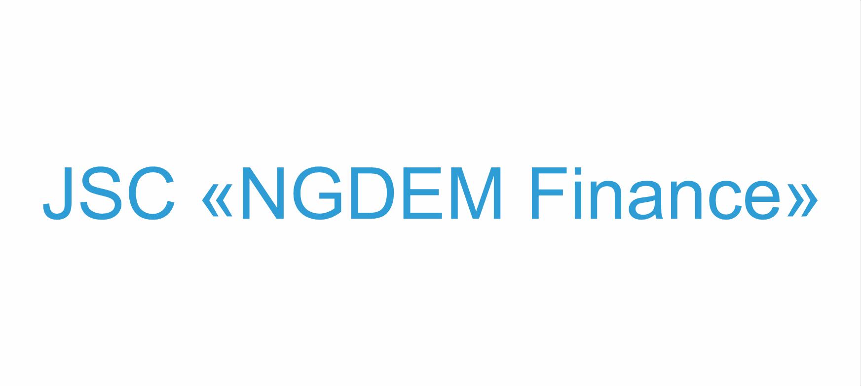 NGDEM Finance JSC